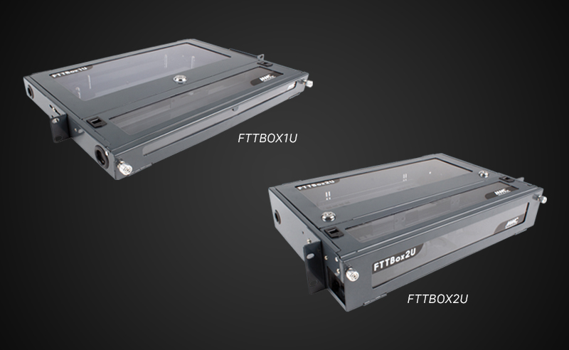 Wallbox & 19'' fiber panel