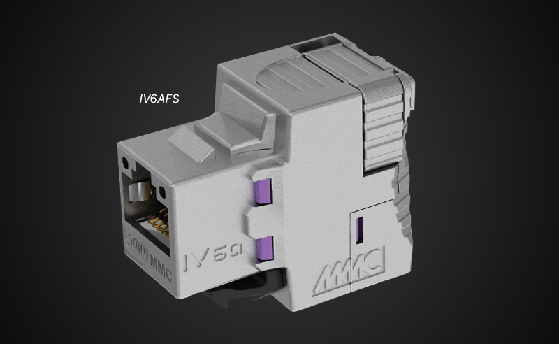 IV6A : the first 100% tool-less connector