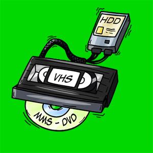 VHS Kassetten, Überspielen, digitalisieren