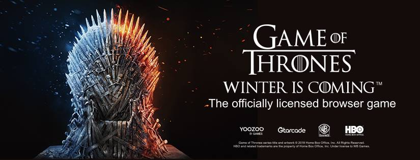 Game Of Thrones Winter İs Coming Browser