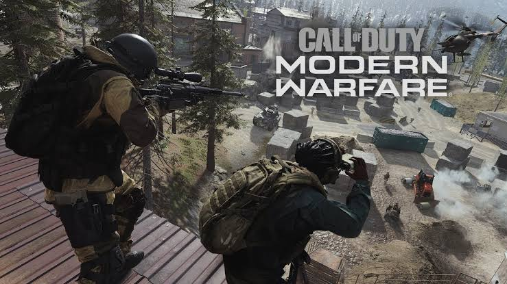 Call of Duty Modern Warfare Rekor