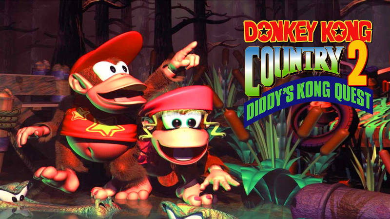 Donkey Kong Country 2 Diddys Kong Quest