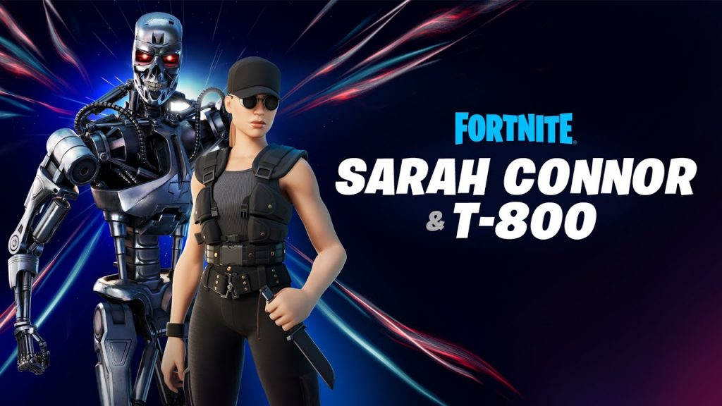 Fortnite Sarah Conner ve Terminator