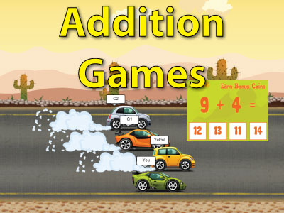 Free Multiplication  Addition  Subtraction  Division Games Addition Math Games