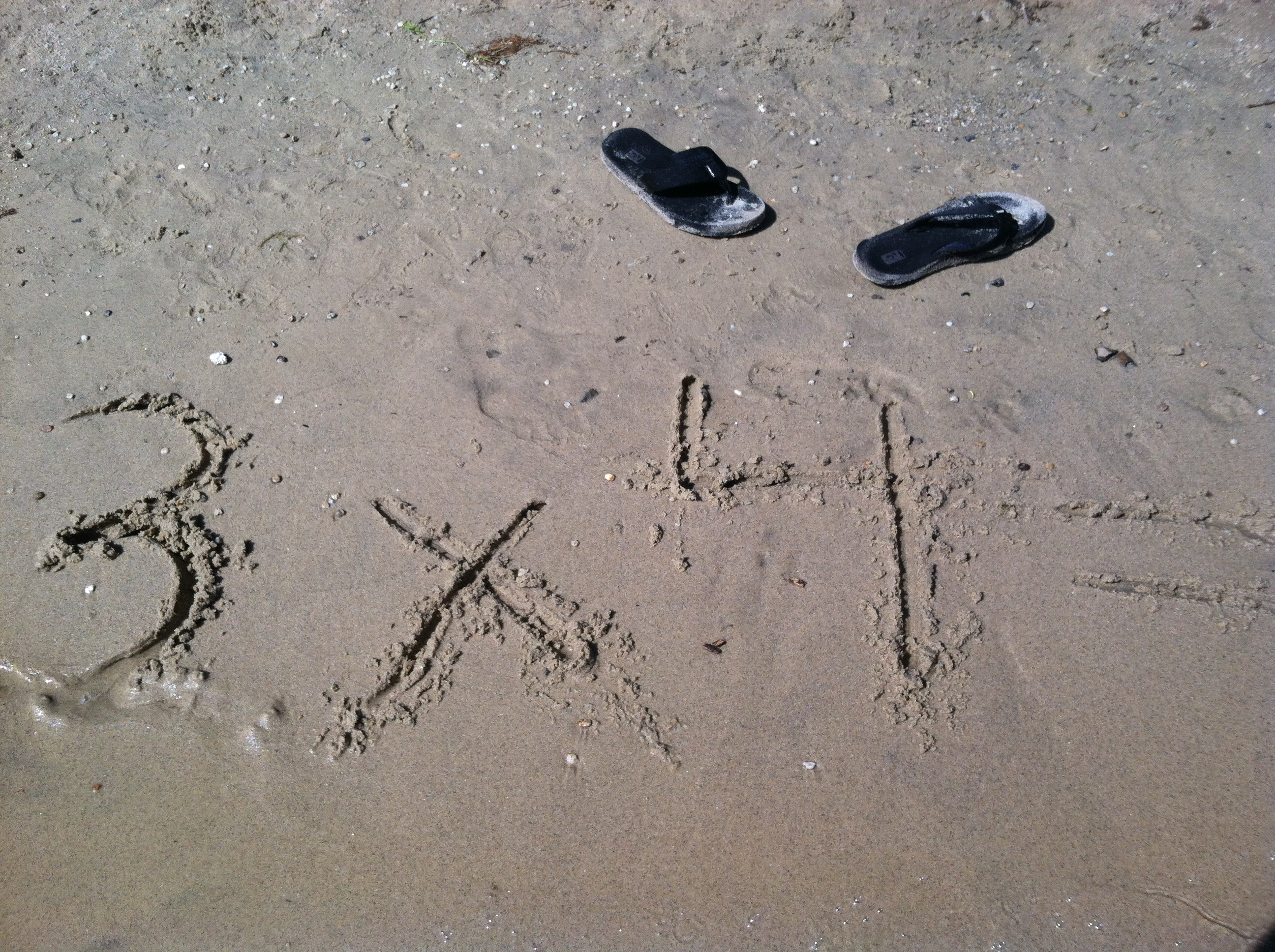 Multiplication At The Beach