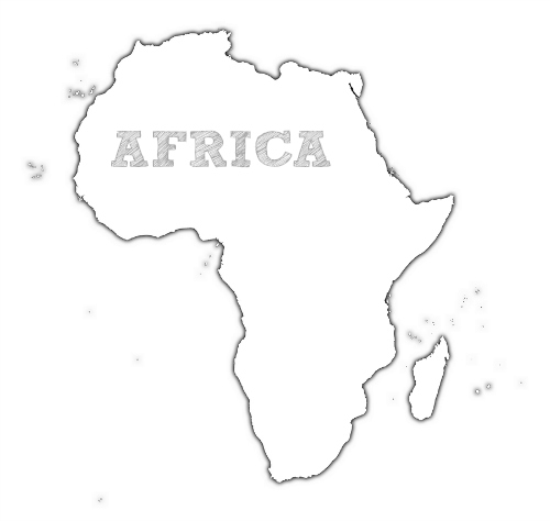 image regarding Printable Continents to Cut Out referred to as Continent Templates. printable continents templates in the direction of lower