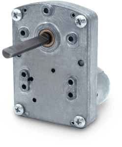 Picture of the model 6000 DC gear motor
