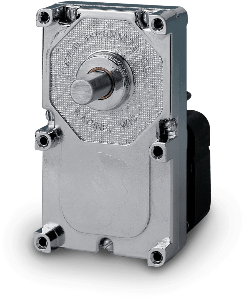 Picture of the model 9000 AC gear motor