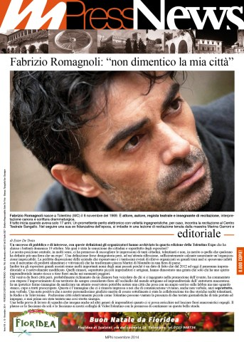 Multiradio Press News - novembre 2014 - prima pagina