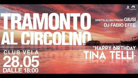 Multiradio Live - Tramonto al Circolino (Happy Tina) Civitanova Marche club Vela domenica 28 maggio 2017