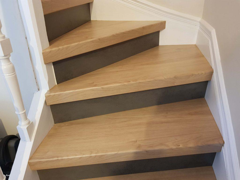 Escalier En Parquet Nez De Marche Pour Parquet Et Sol Stratifie Un Nouvel Escalier Ou Renover Un Escalier Existant