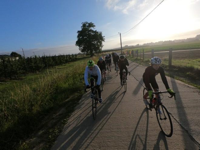 Op de terugweg richting Mechelen