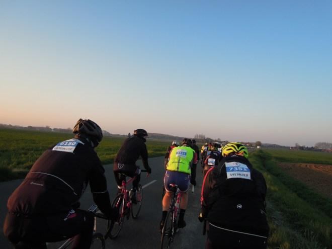 Paris-Roubaix onderweg