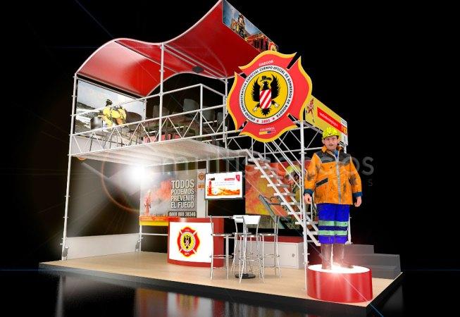 Diseño y producción de stands en Bogotá y Colombia