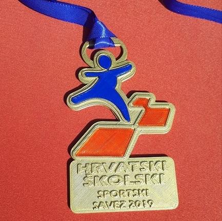 3D isprintana medalja