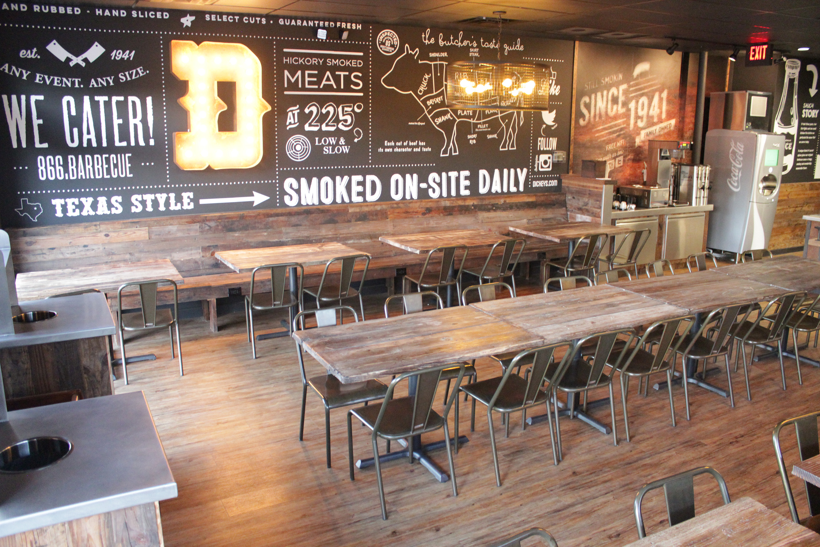 Dickeys Barbecue Restaurants Inc Debuts Redesigned