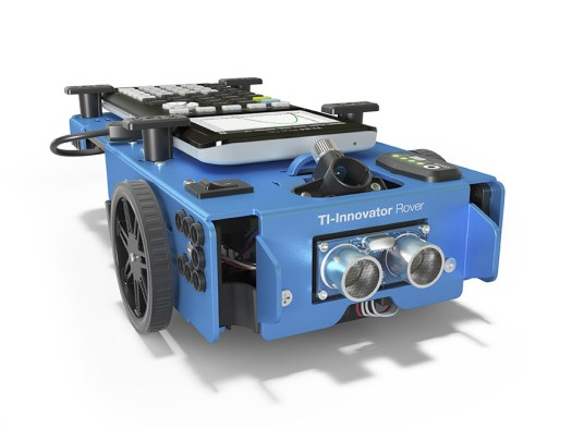 Meet TI's first educational robot, the TI-Innovator Rover, that puts STEM into motion.