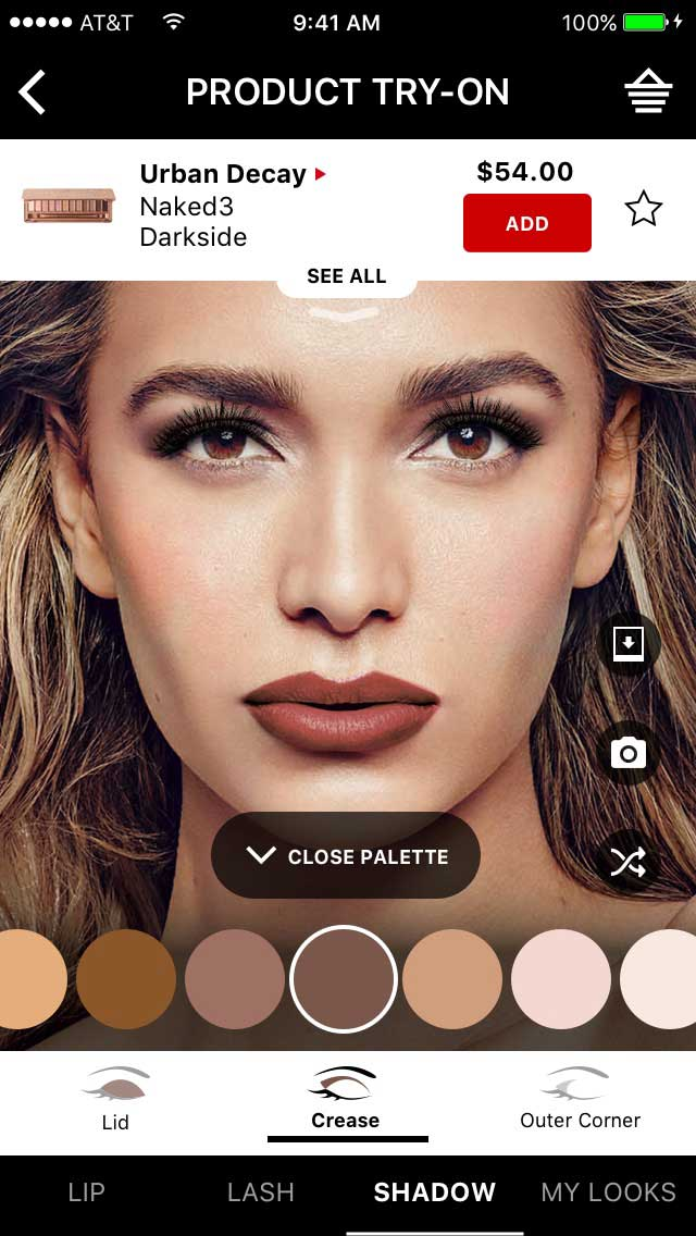 Sephora Virtual Artist Adds Try