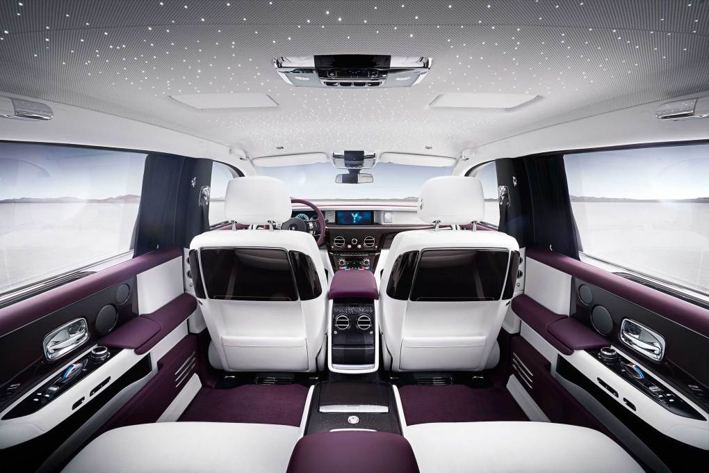 The New Phantom is the most technologically advanced Rolls-Royce ever with a central nervous system that connects and controls all the advanced intelligence systems of the New Phantom.