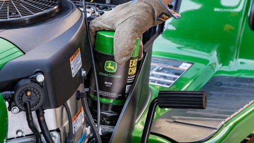 John Deere Revolutionizes The Oil Change With The New Easy