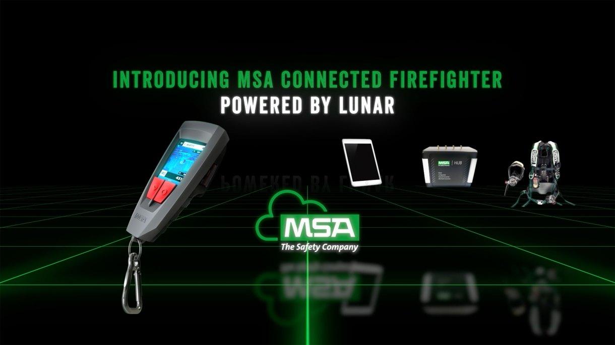 MSA Connected Firefighter Platform