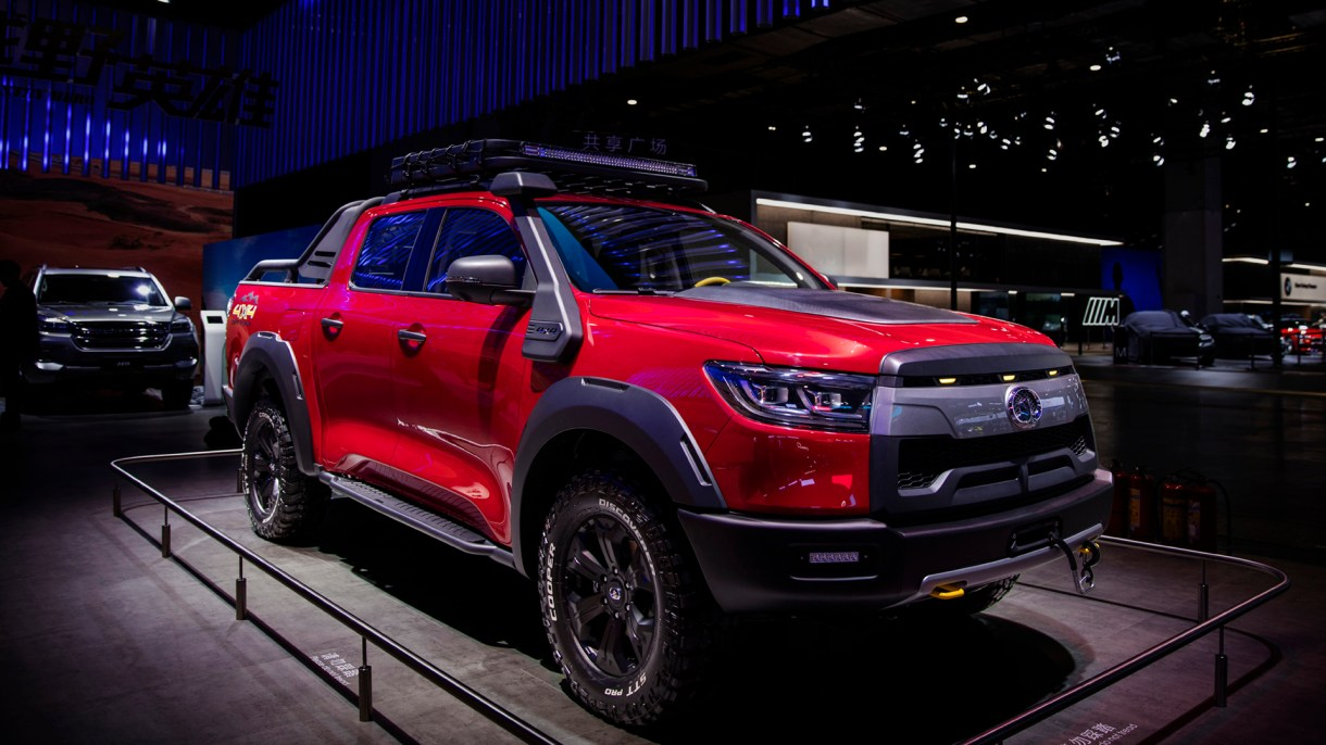 Designed for every scenario the P series cross-country pickup is as robust as they come.