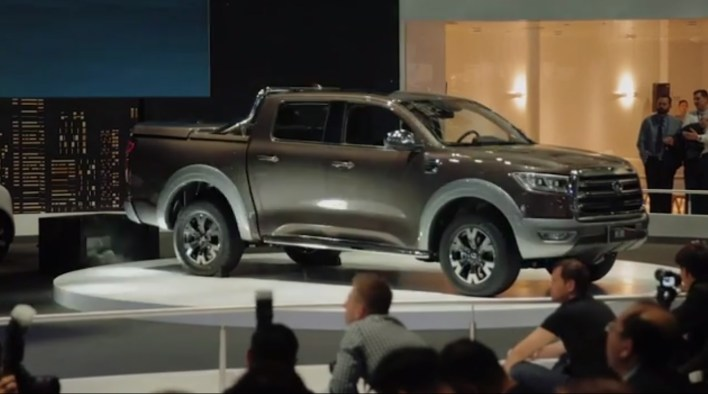 The GWM P series world debut at the 2019 China Shanghai Auto Show.