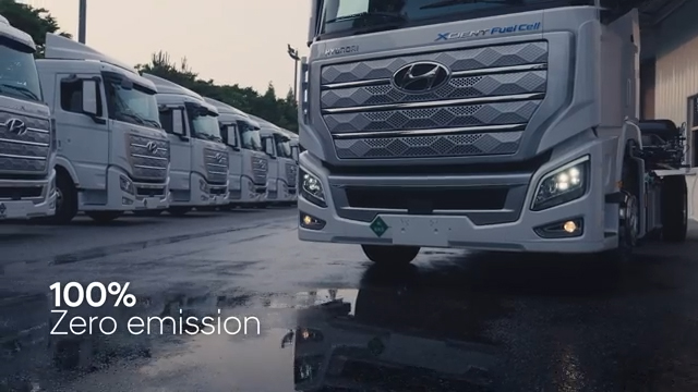 World's First Fuel Cell Heavy-Duty Truck, Hyundai XCIENT Fuel Cell