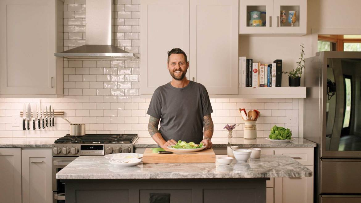 Brian Lockwood - Chef de Cuisine at Eleven Madison Park at his family home in Denver, CO