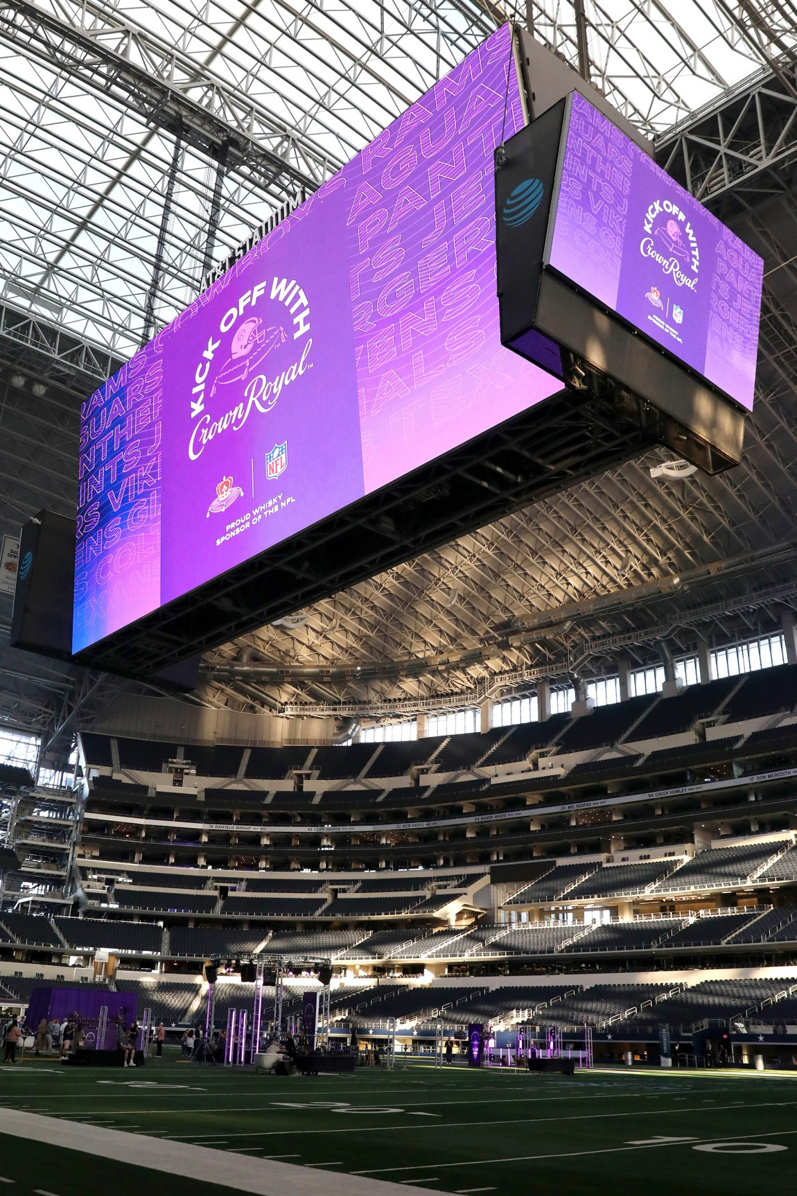 Crown Royal celebrates groundbreaking partnership with the NFL through 'Kick Off with Crown Royal', a season-long community initiative to inspire generosity towards hospitality personnel and military members who make game day great.