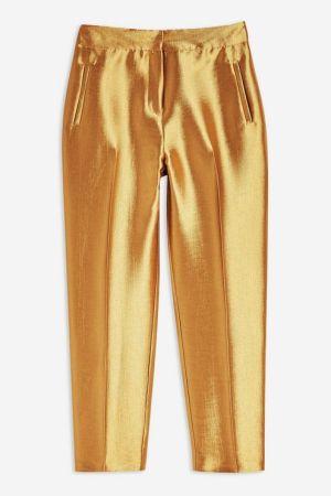 Satin Clean Peg Trousers