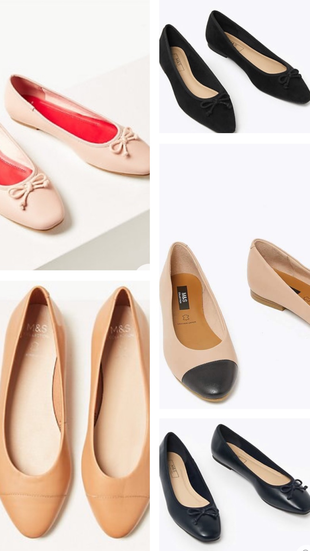 Marks and Spencer Ballet Pumps