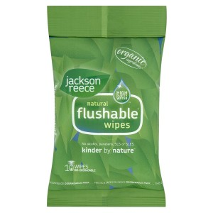 Jackson Reece flushable wipes