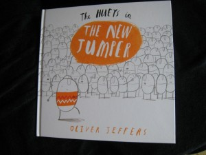 Oliver Jeffers The Hueys in The New Jumper