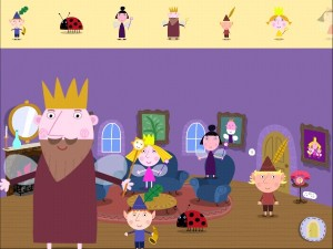 Ben and Holly app sticker book