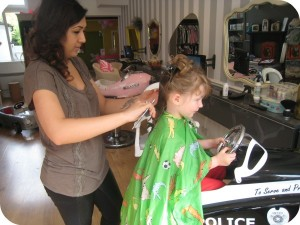 H's haircut at Bigoodi