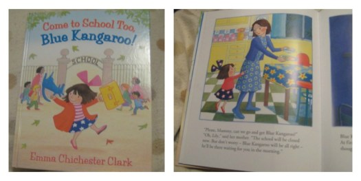 Come to School Too Blue Kangaroo by Emma Chichester Clark