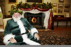 Father Christmas at Killerton, Devon ©National Trust Images, Arnhel de Serra