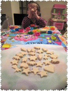 Saltdough Decorations - all cut out