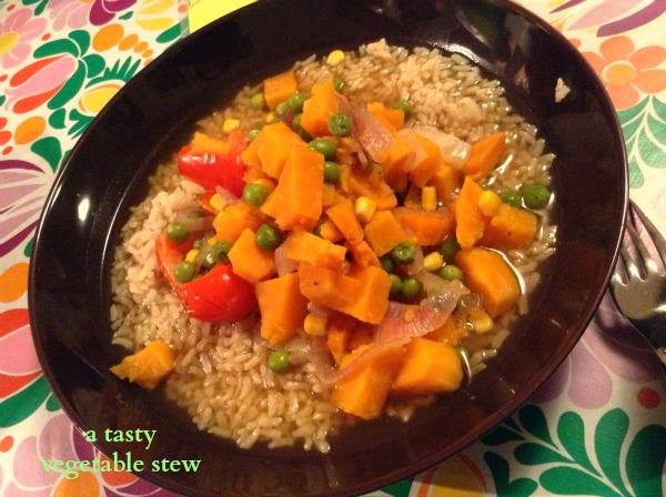 an easy vegetable stew
