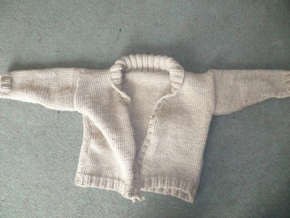 Debbie Bliss knitted cardigan