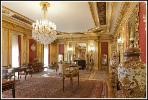 Polesden Lacey Gold Room by Eddie Hyde