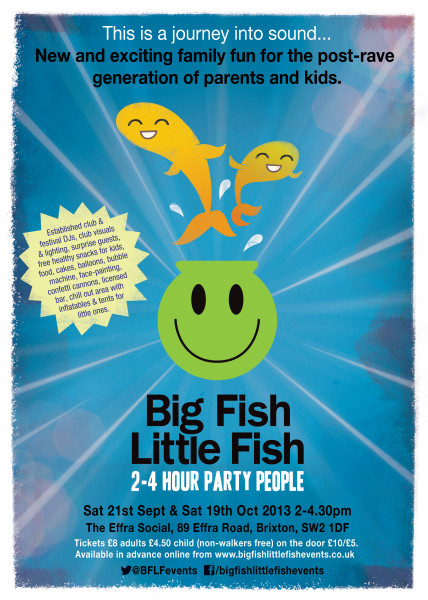 Big Fish Little Fish flyer