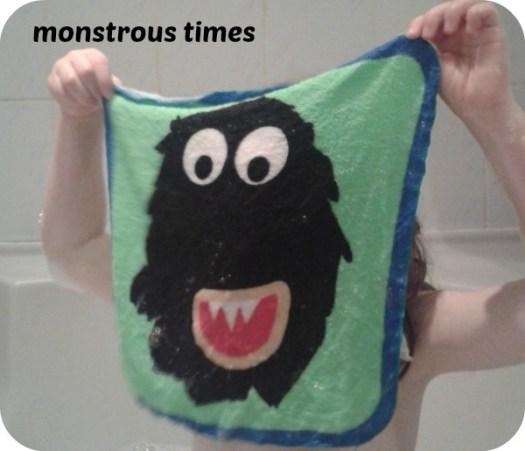 Tiger Monster cloth