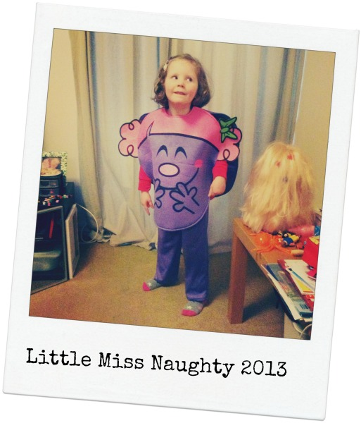 Little Miss Naughty World Book Day