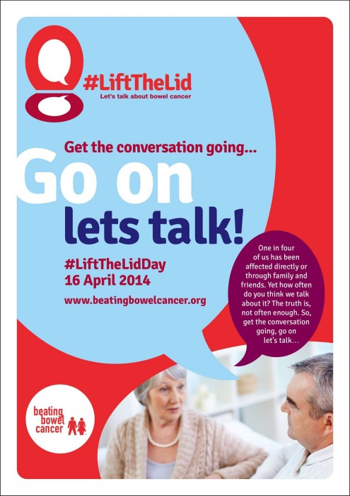 Lift The Lid on Bowel Cancer