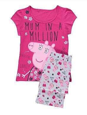 mummy pig gifts - pyjamas