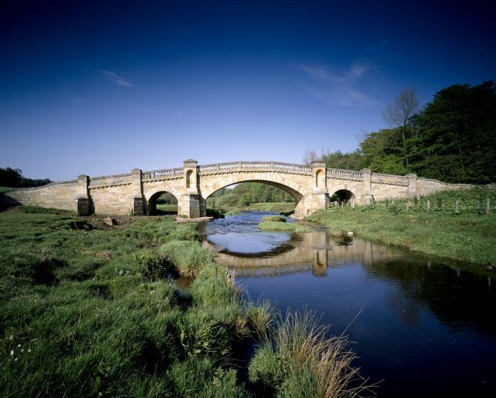 Bridge at Wallington, ©National Trust Images Matthew Antrobus