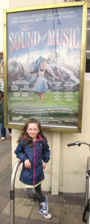 the sound of music uk tour - poster