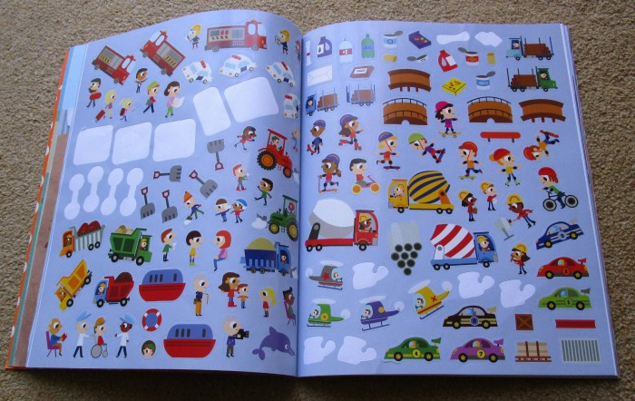Busy Busy Things That Go stickers
